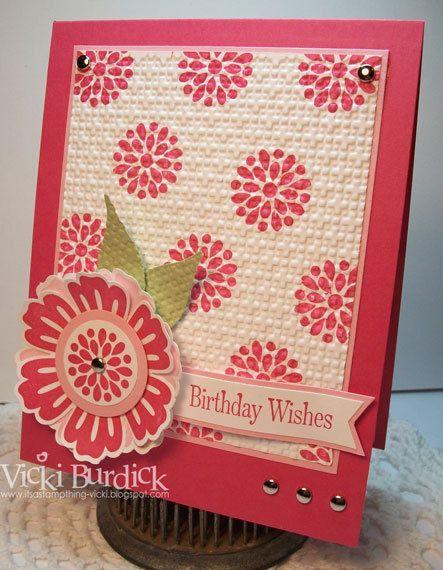 I always love Vicki Budick's cards!