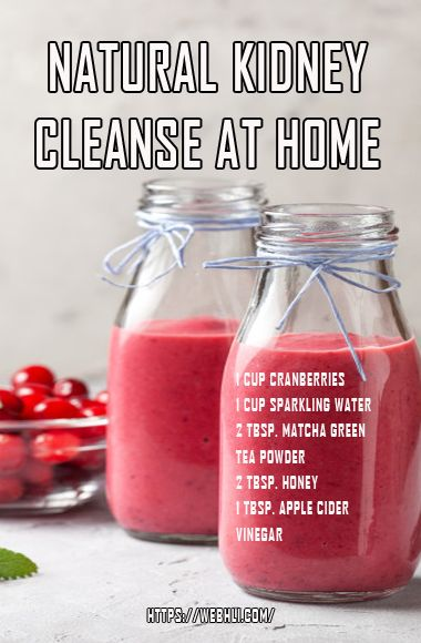 Natural Kidney Cleanse at Home #kidneycleanse