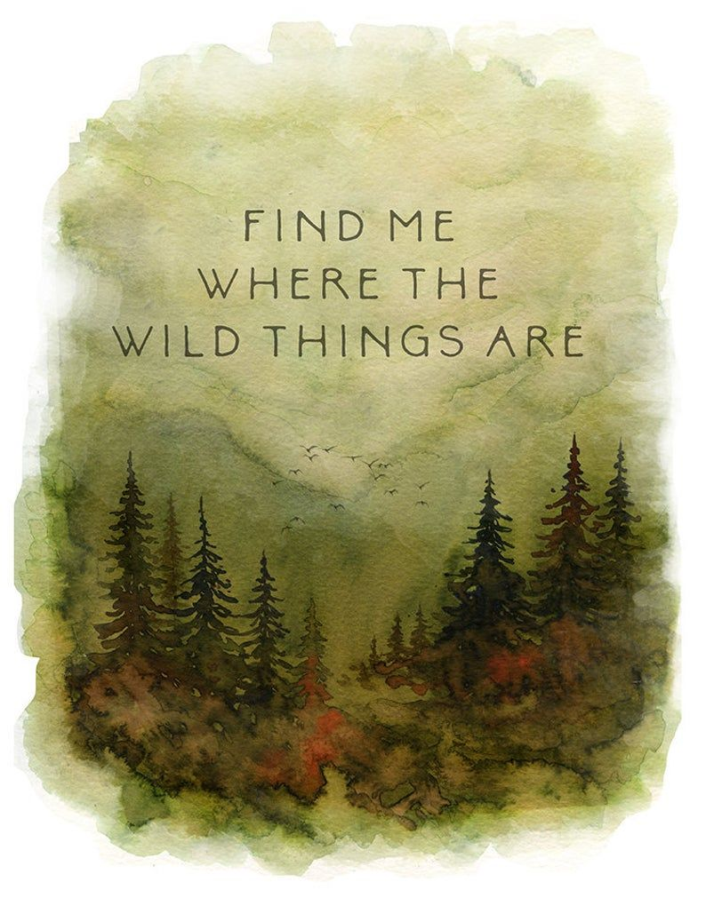 Photo of The Wild Things Print, Where The Wild Things Are, Wild Things Print, Wild Things Nursery Decor, Wild Things Nursery Wall Art, I Love You So