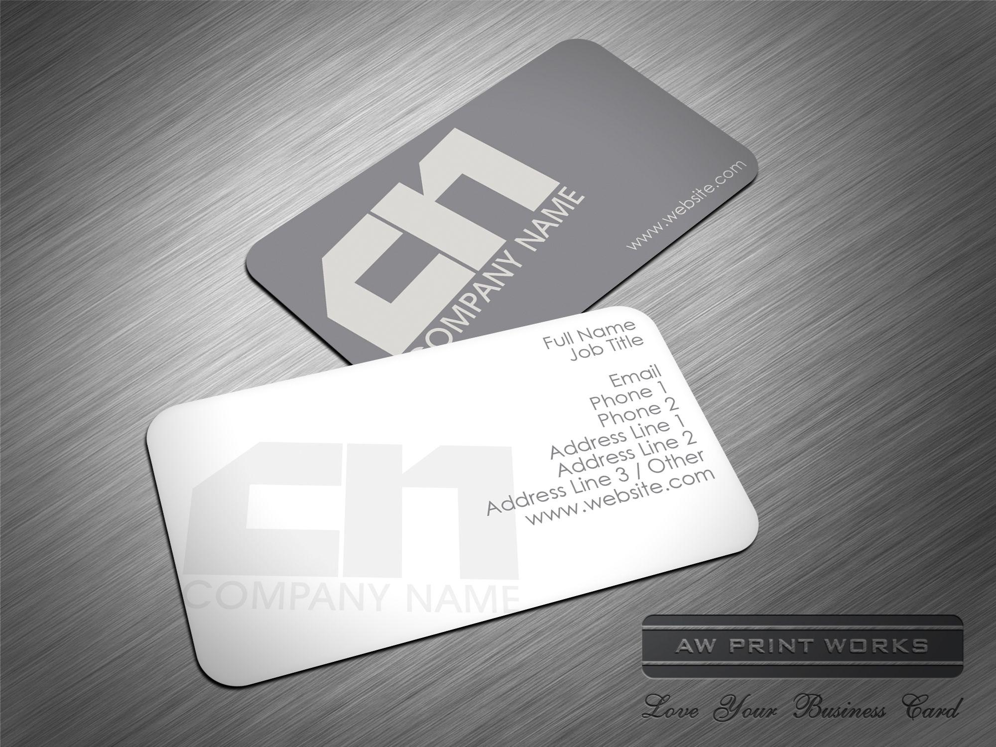 Universal Business Card Template 228