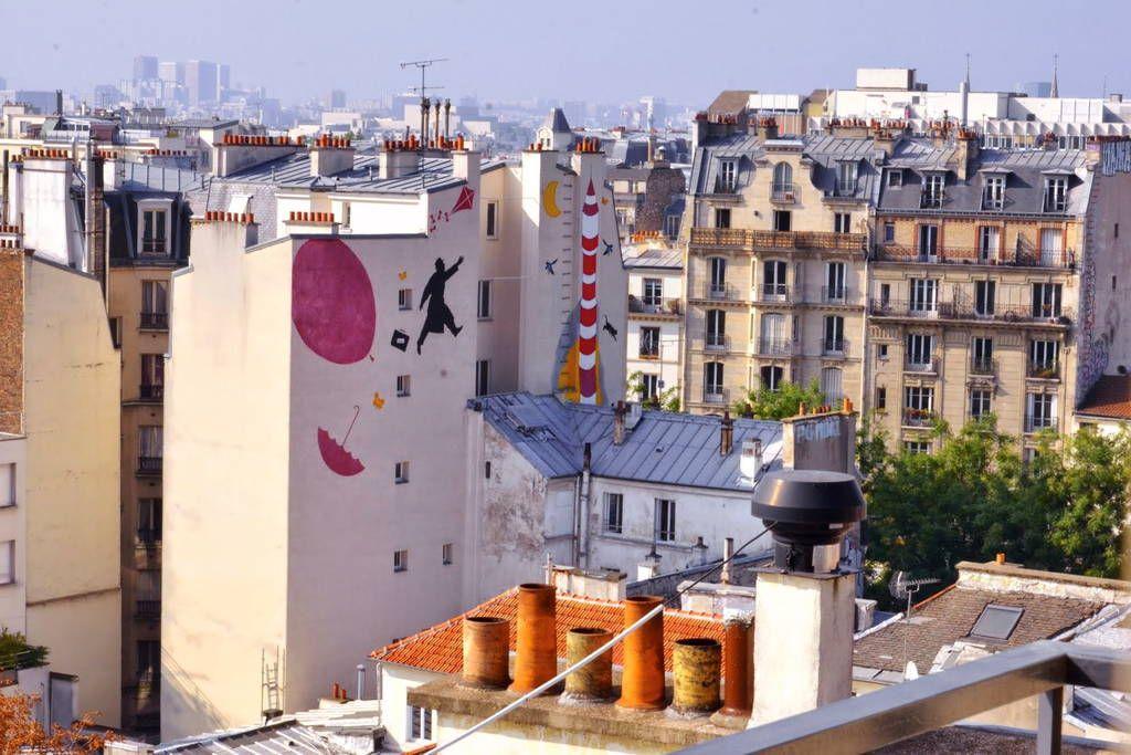 Ganhe uma noite no Sunny Paris Ménilmontant Loft - Apartamentos para Alugar em Paris no Airbnb!