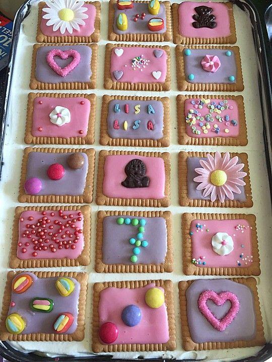 Keks-Kuchen vom Blech | Rezept in 2019 | Kuchen, Kekse und ...