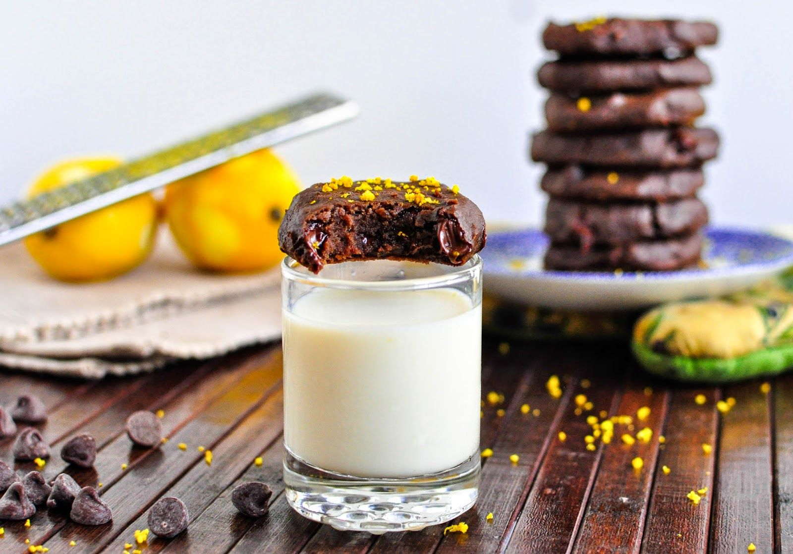 Minty Anne: Chocolate Chickpea Cookies (V) (GF)