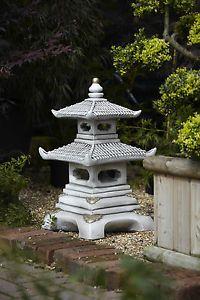 Perfect Concrete Garden Pagoda Statue   Pagoda Garden Ornament