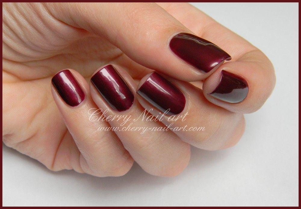 Vernis Inglot 637 Et 643 Cherry Nail Art Cherry Nails Cherry Nail Art Nails