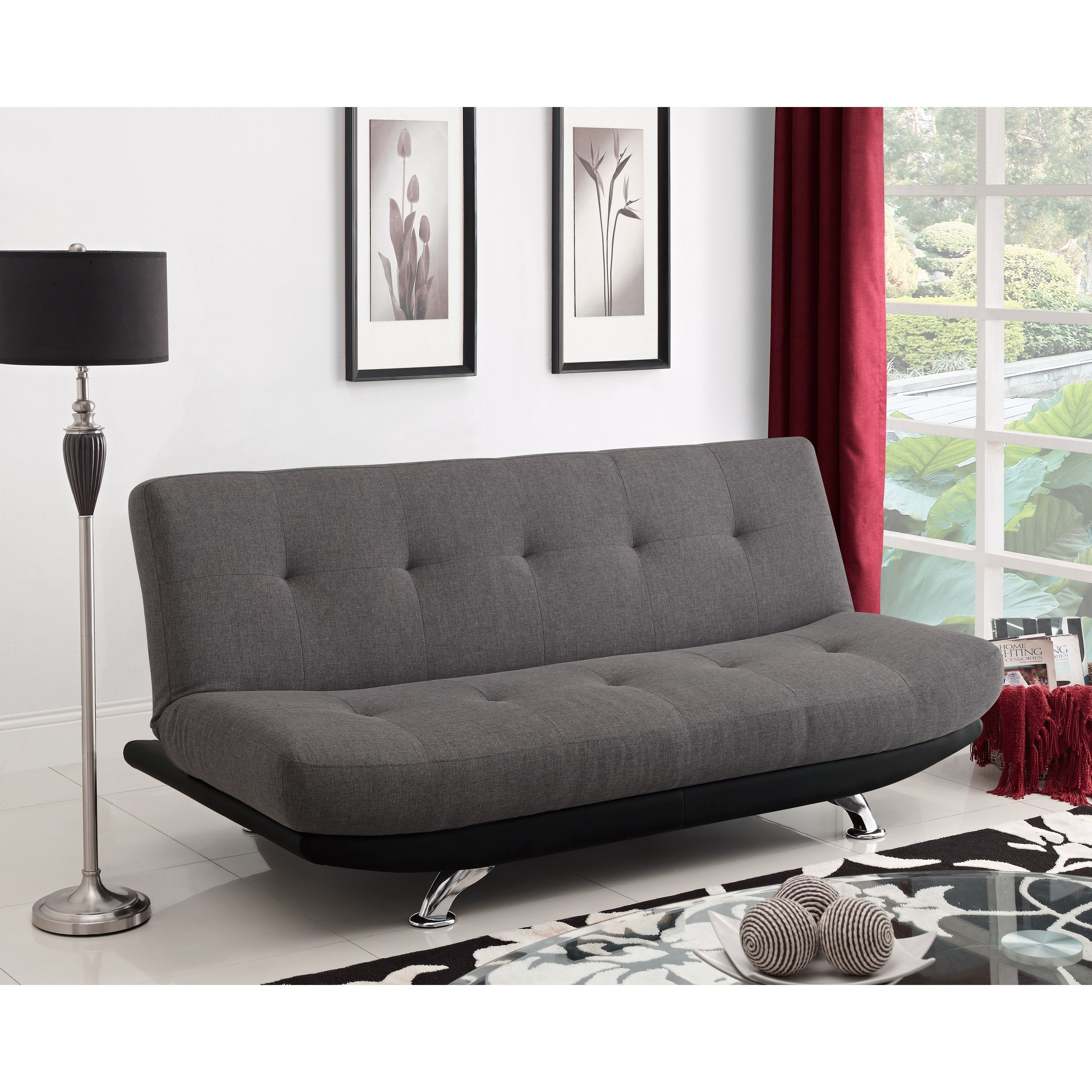 Bring A Modern Look To Your Living Space With The Dhp Skyline Futon