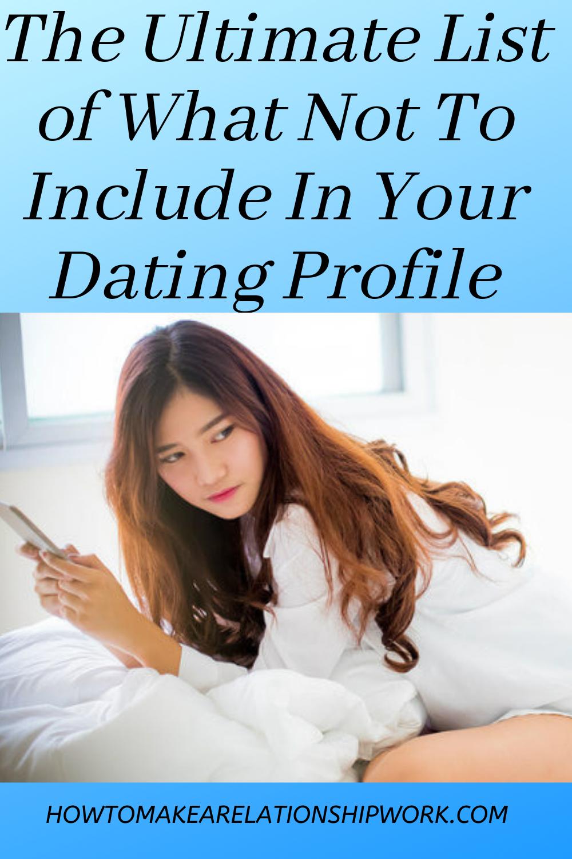 Ultimate online dating profil hva som ikke skal gjøre når dating en Virgo mann