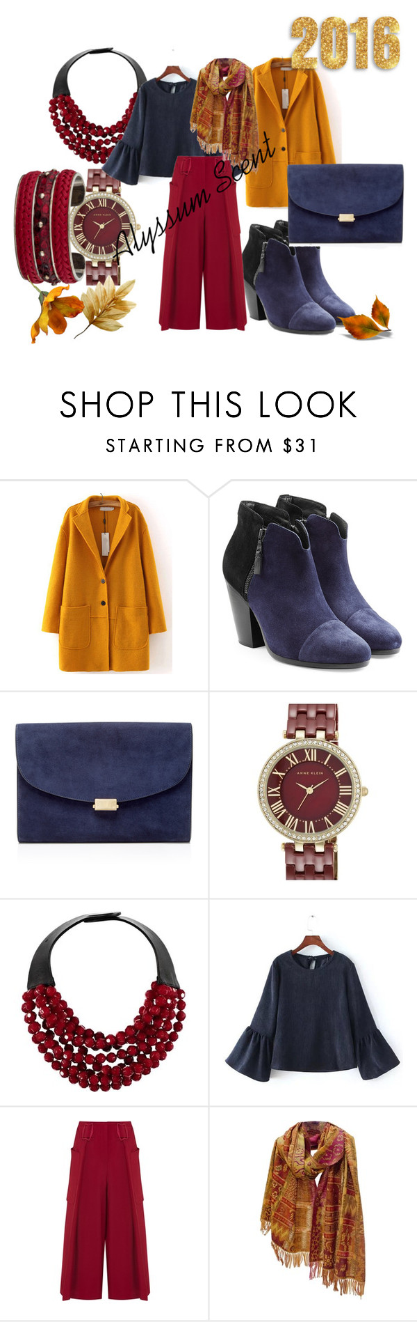 #14-2/2016 by alyssumscent on Polyvore featuring WithChic, Emporio Armani, rag & bone, Mansur Gavriel, Fairchild Baldwin, Tod's, Anne Klein, women's clothing, women's fashion and women