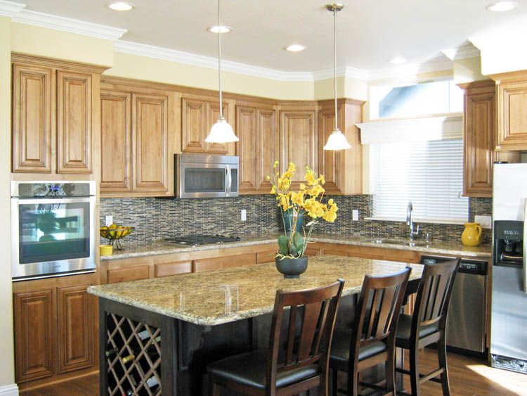 Beautiful Kitchen By Skyline Manufactured Homes San