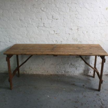 Ordinaire Vintage Trestle Table