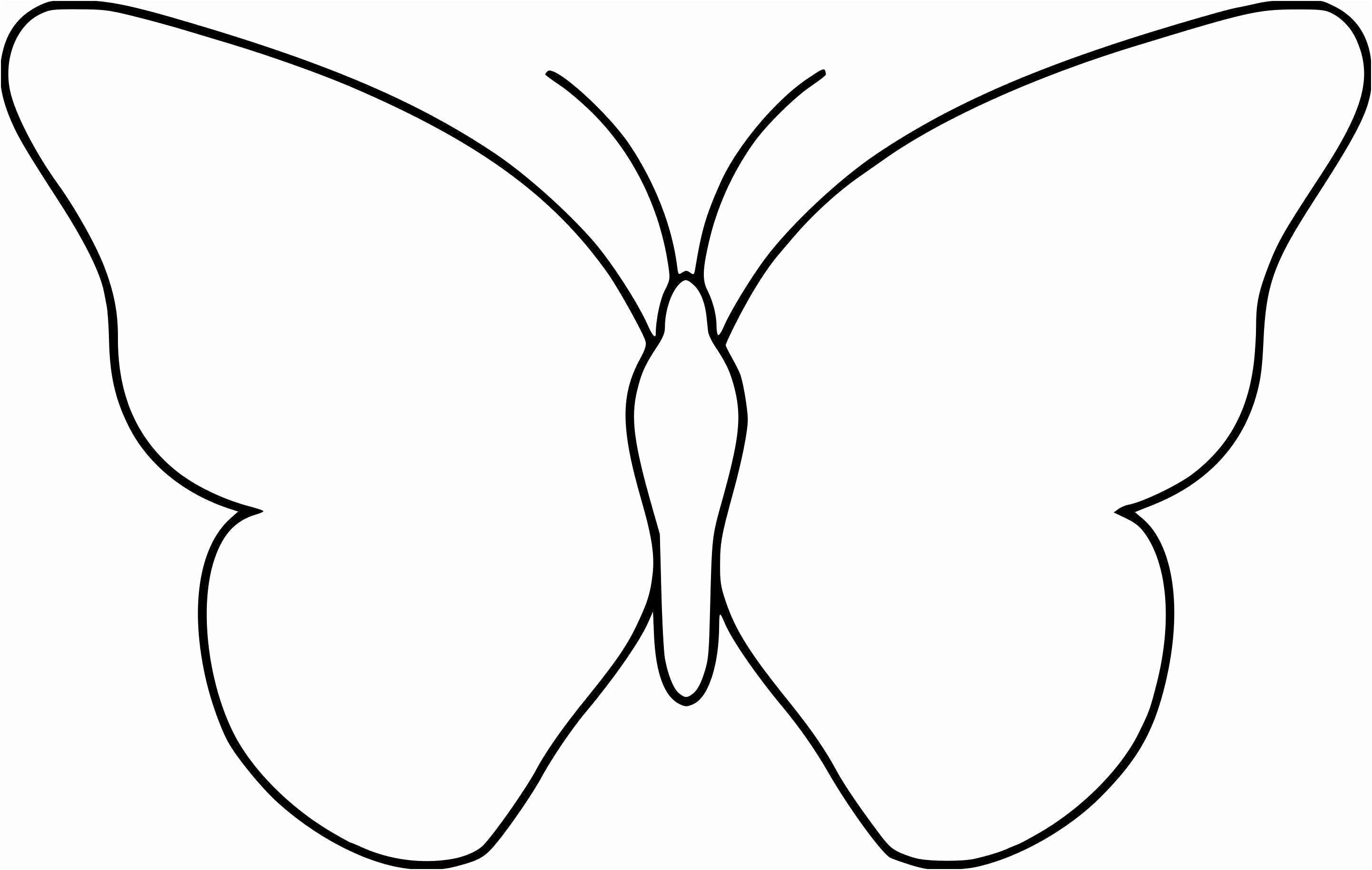 Coloriage Papillon Simple In 2020 Drawings Gallery
