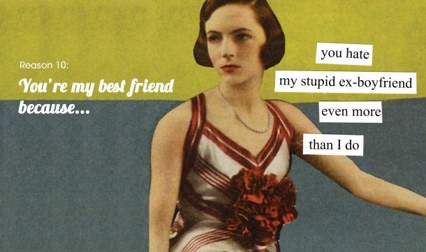 Friends my my boyfriend hate ex What to