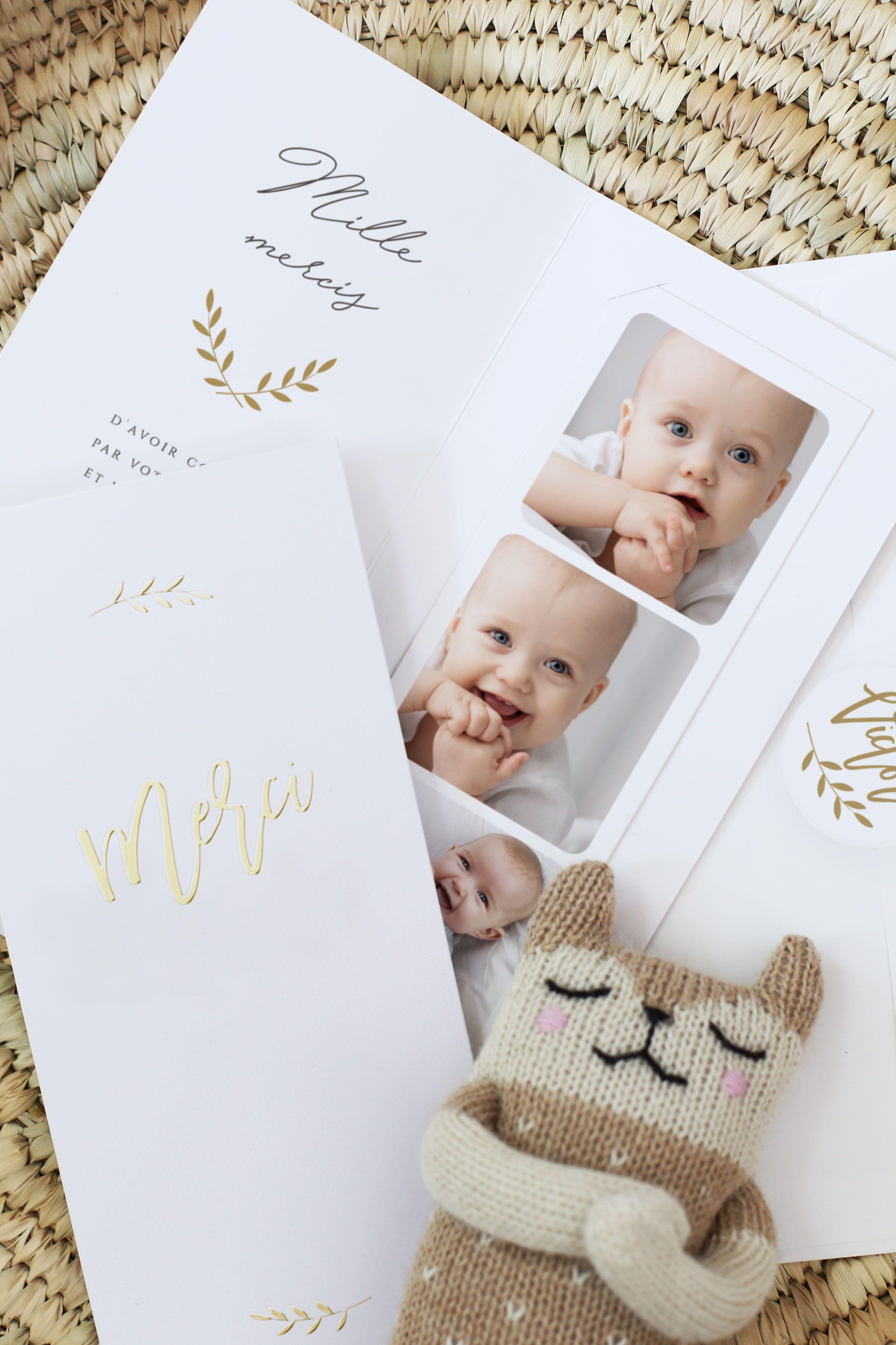 Une Carte De Remerciement Cadeau Envoyez Un Photomaton De Vos