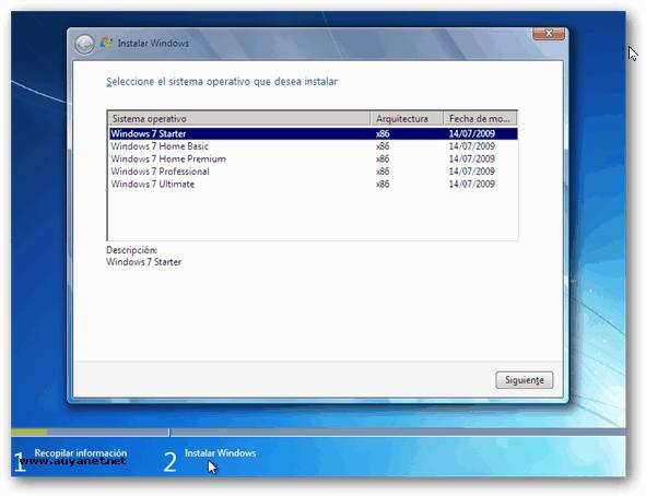 Como instalar cualquier edición de Windows 7 desde un mismo DVD