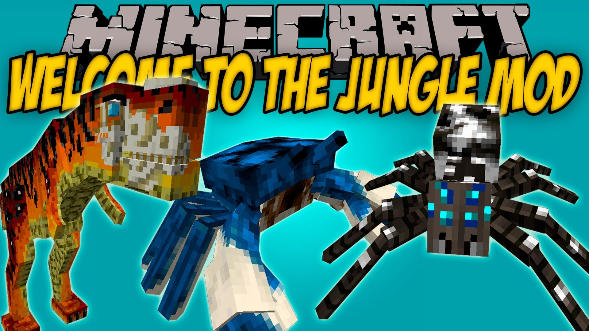 Minecraft Welcome To The Jungle Mod 1 12 2 1 11 2 Download