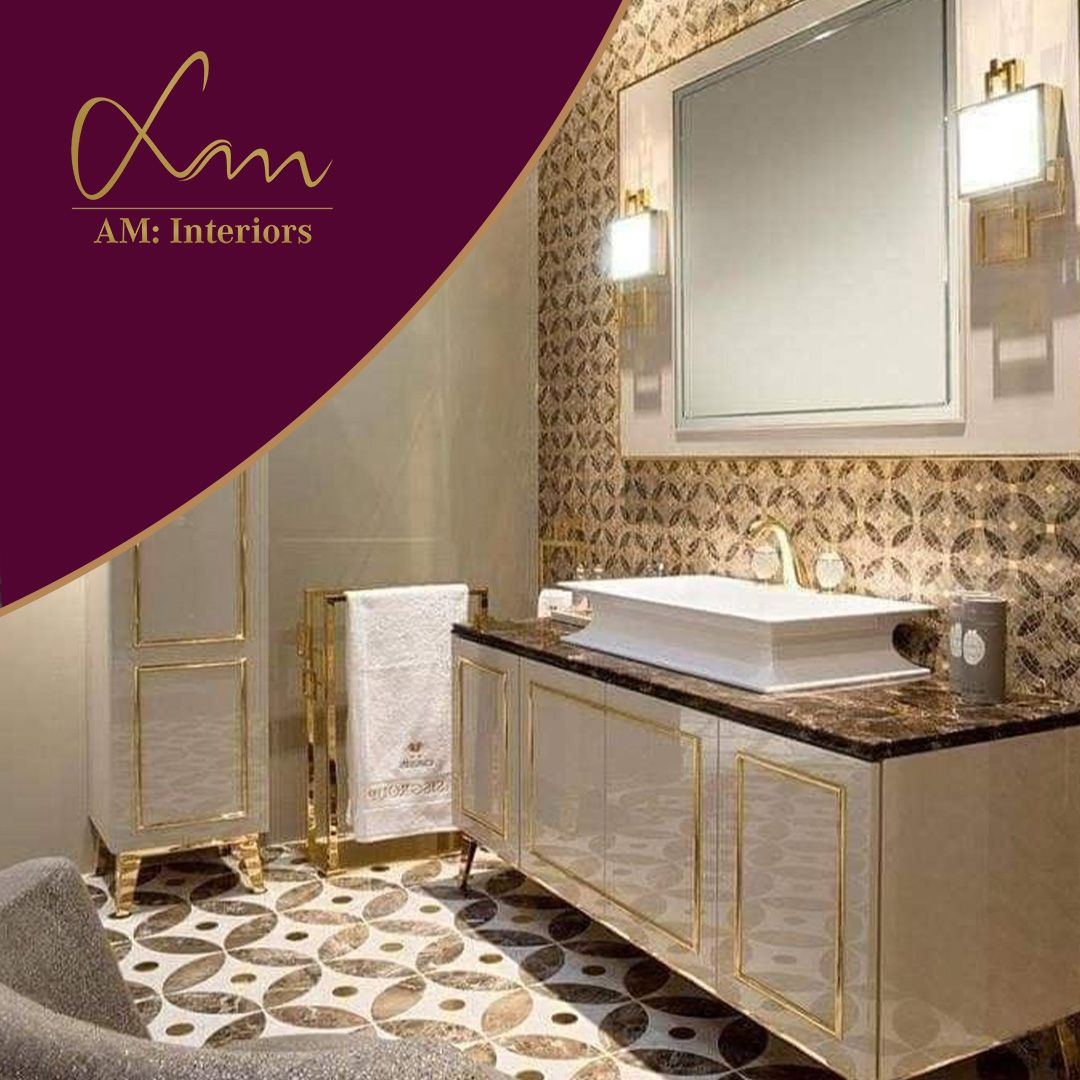 Sky is the limit they say . So, to touch the sky with boundless opportunities AM: Interiors is all set with their unrivaled and alluring interiors. #luxury #interiordesign #design #washroomdesign #alluringinteriors #lovedesign
