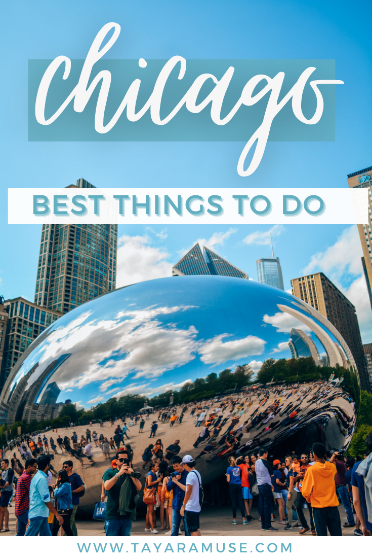 Planning a trip to Chicago? Here are the best things to do in Chicago for first-time travelers. #travelchicago #bestofchicago #summervacation #windcity #chicago #illinois #USA #chicagotravel #chicagoguide #chicagoitinerary