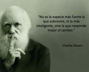 Charles Dawin Una Gran Frase Sobre El Cambio La
