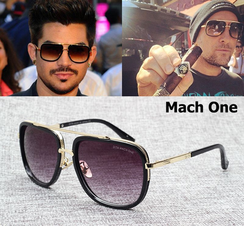 ebeade8e3628 2016 New Fashion Dita Brand The MACH ONE Sunglasses Men Women Vintage  Classic Top Quality https
