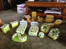 20 Pieces Vintage 60s/70s Barbie Blow Up Furniture by Zee Toys
