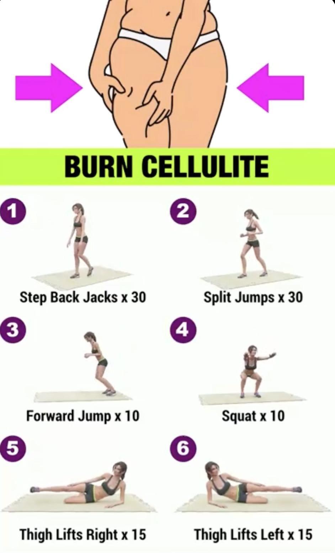 Burn cellulite