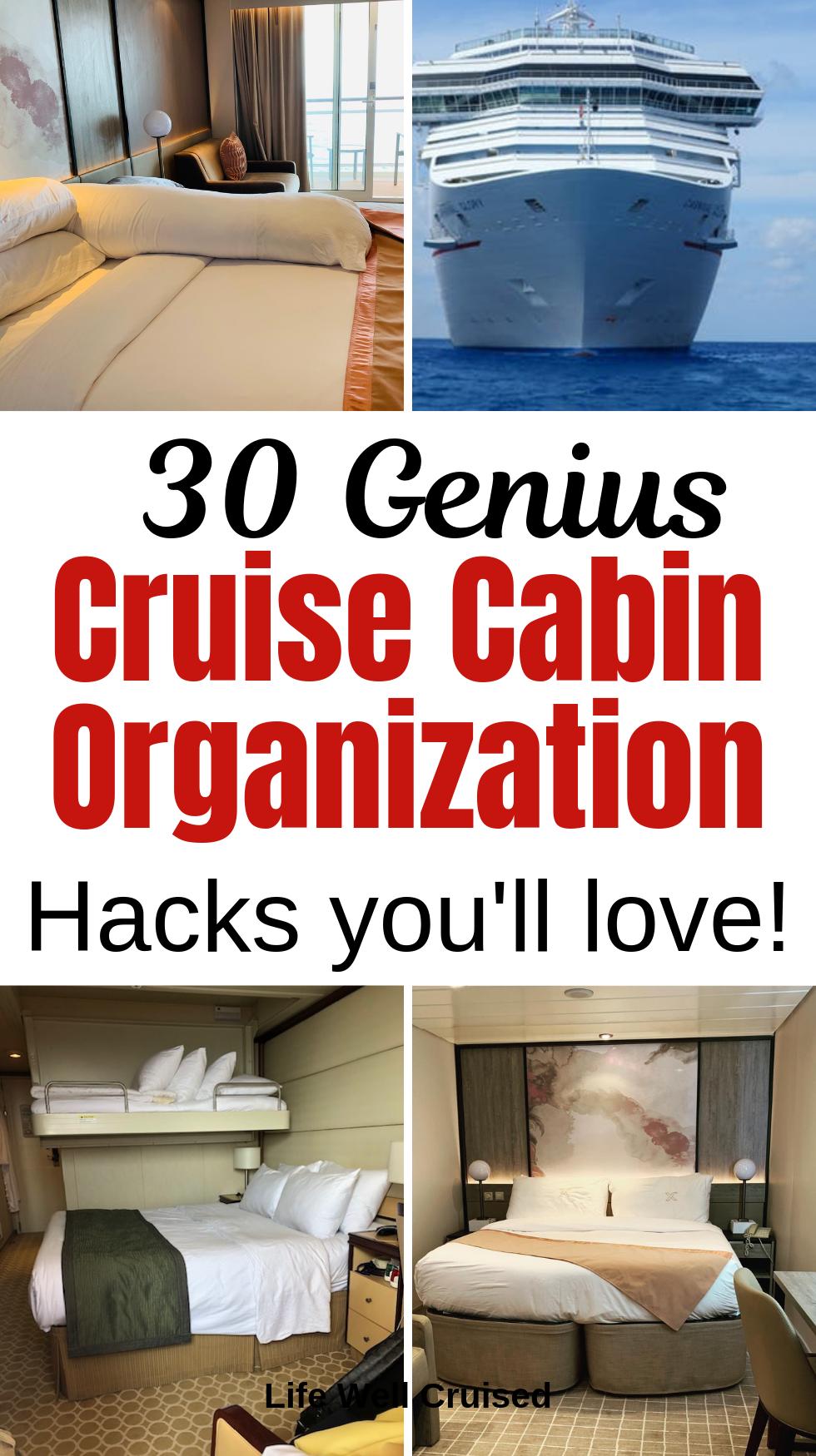 30 Genius Cruise Organization Hacks You'll Love!