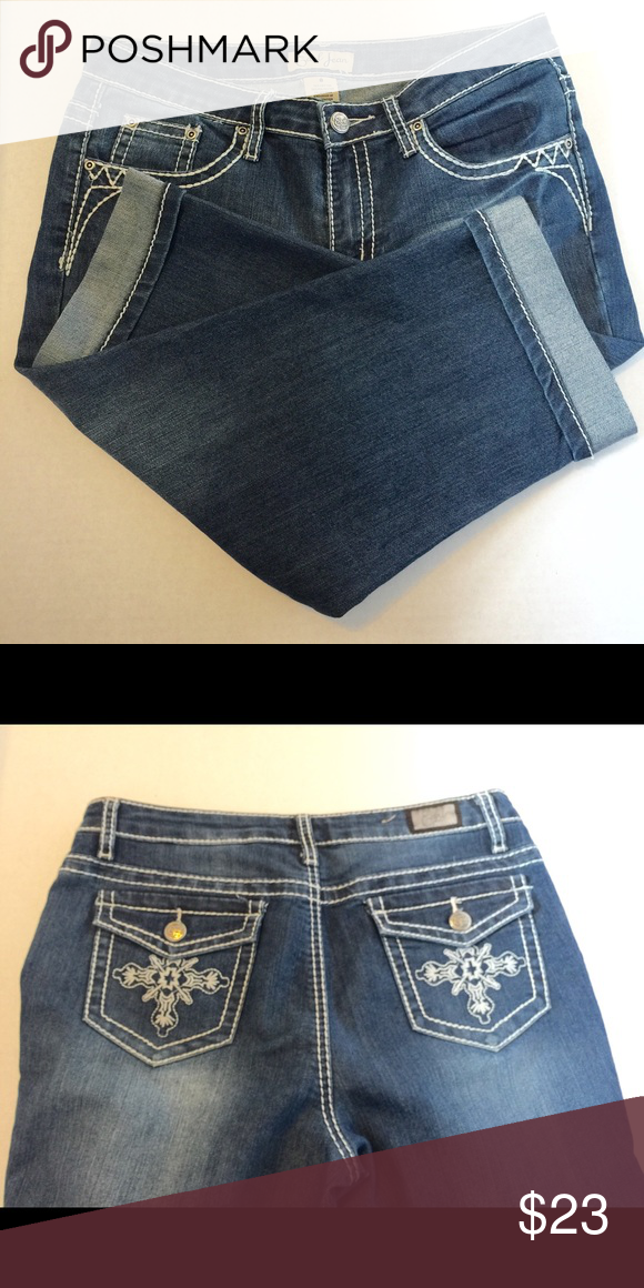 Earl Jean capris Size 8 | Capri, Jeans and Pockets