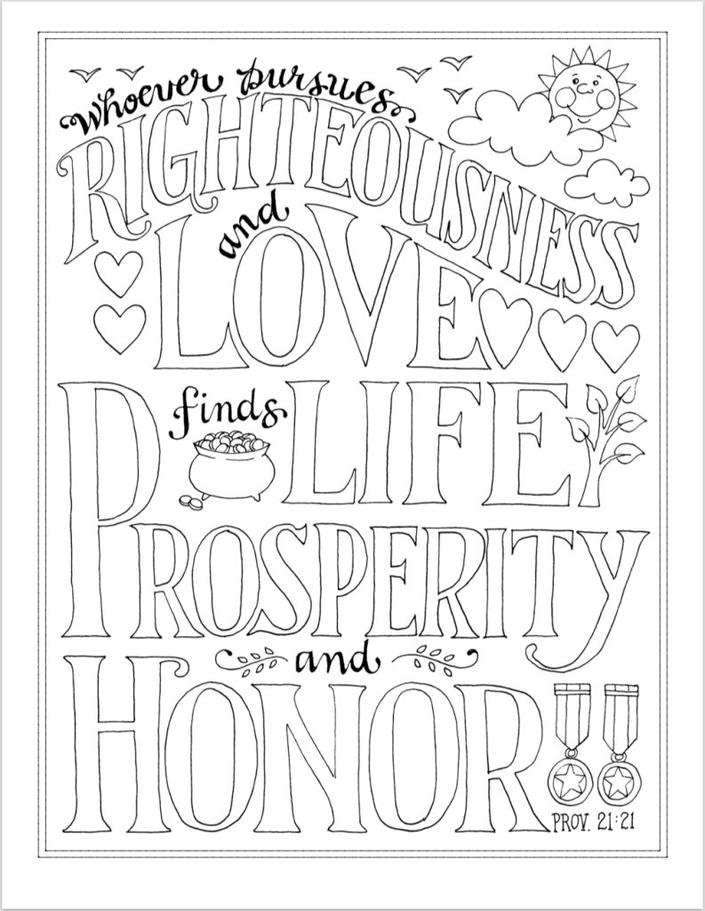 Free Printable Coloring Pages With Scripture Emphasis From Flandersfamily Info Bible Based So Bible Coloring Bible Coloring Pages Bible Verse Coloring Page