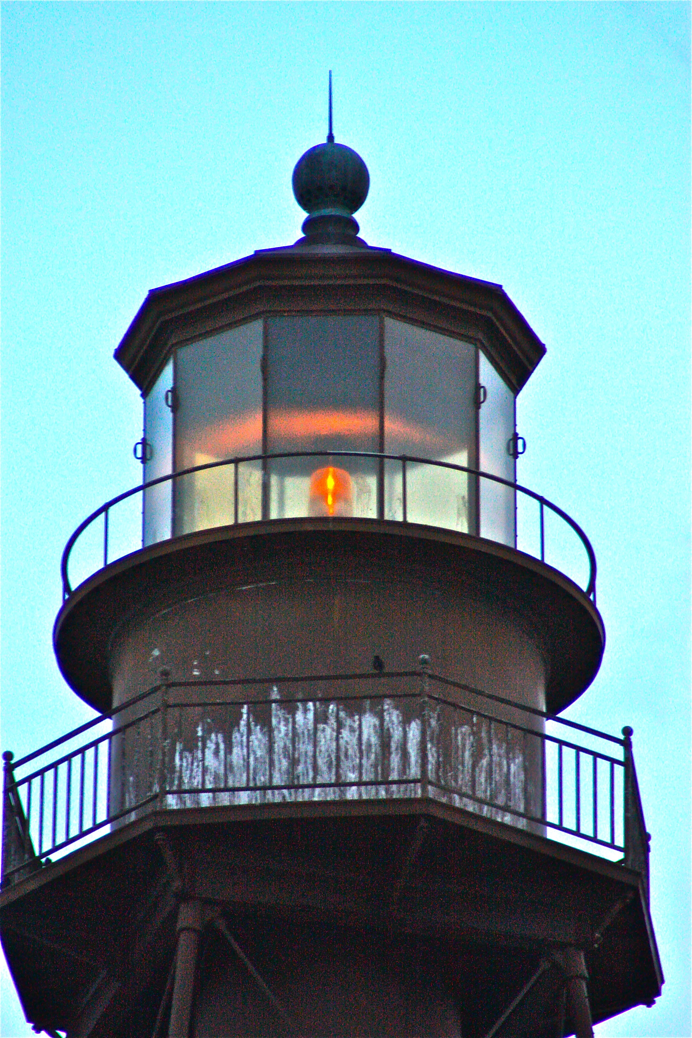 The Lighthouse On Sanibel, Florida. The Sanibel Island Light Or Point Ybel  Light Is The First Lighthouse On Floridau0027s Gulf Coast North Of Key West And  The ...
