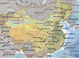 Cina Cartina Fisica Geografica.Risultati Immagini Per Carta Geografica Della Cina