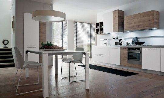 cucine bianche e legno - Cerca con Google | cucina | Pinterest | Oslo