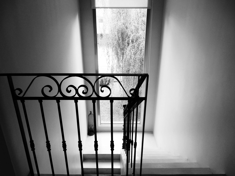 Escalera hierro forjado casa country estilo minimalista francisco lvarez pappacena - Escaleras hierro forjado ...