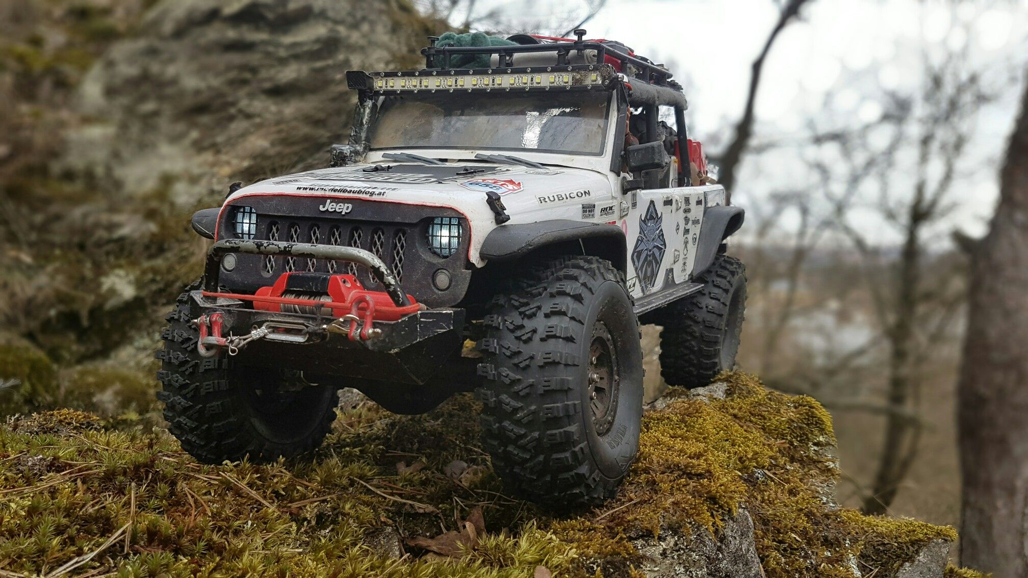 Axial Scx10 Jeep Wrangler Rc Rctruck Rctrial Axial