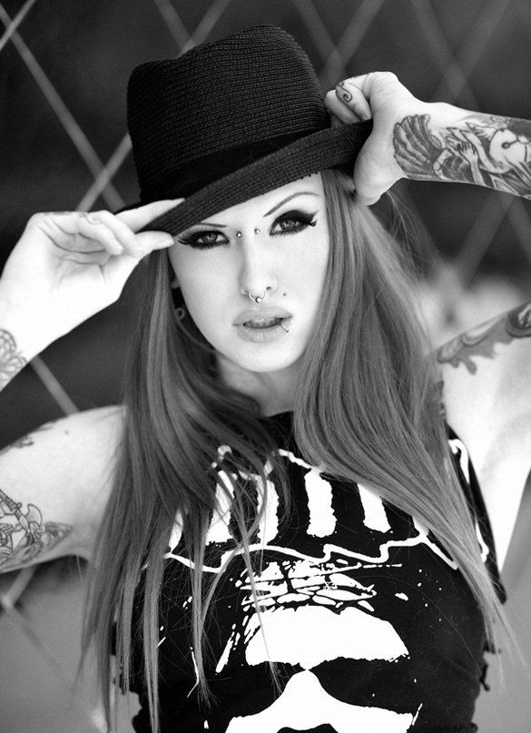 cute, girl, tattoos, arms, ideas, black and white