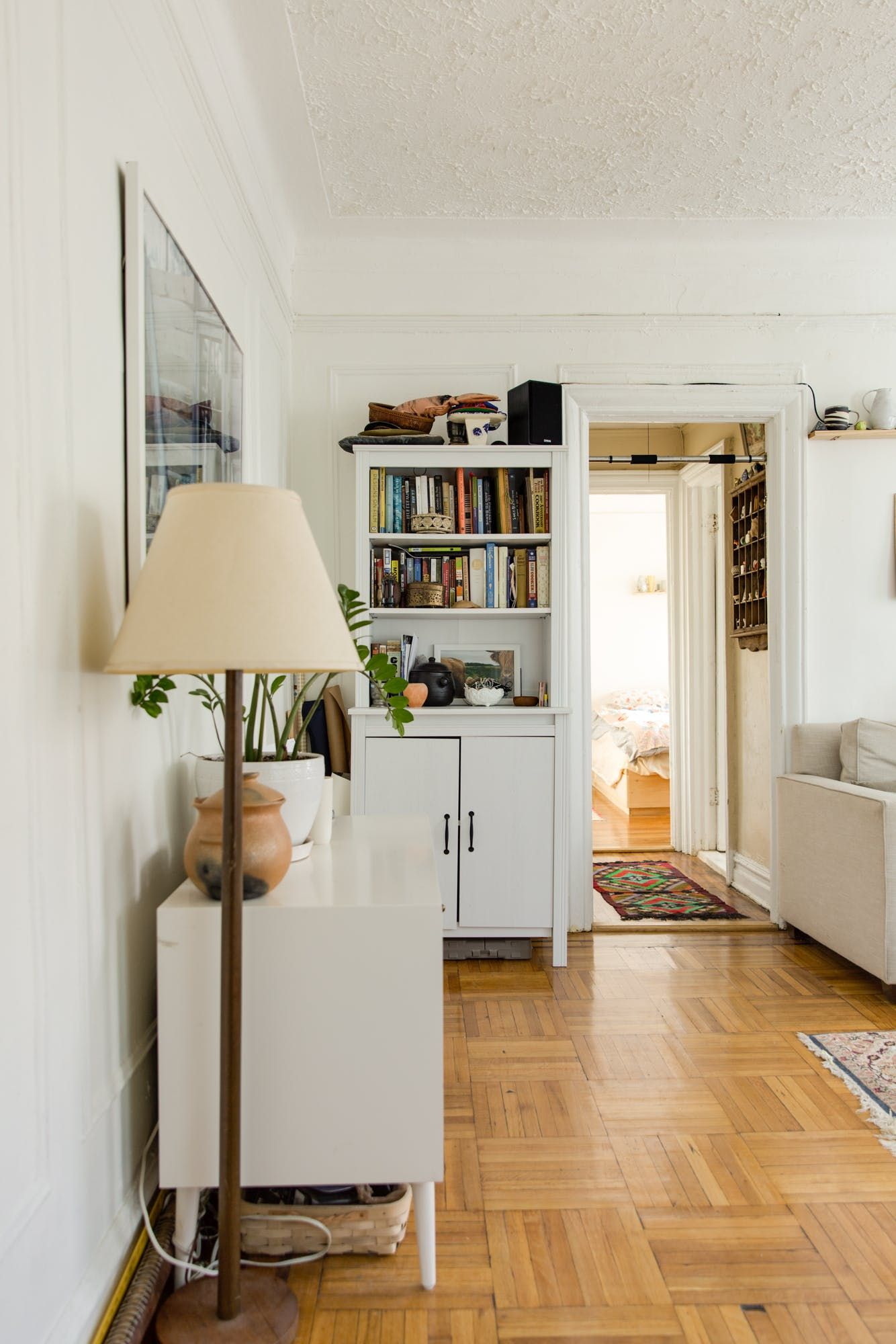 Following The Kitchen, Guests Walk Directly Into The Living Room