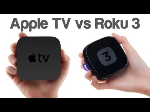 Amazon Fire TV vs Apple TV vs Roku 3 vs Google Chromecast
