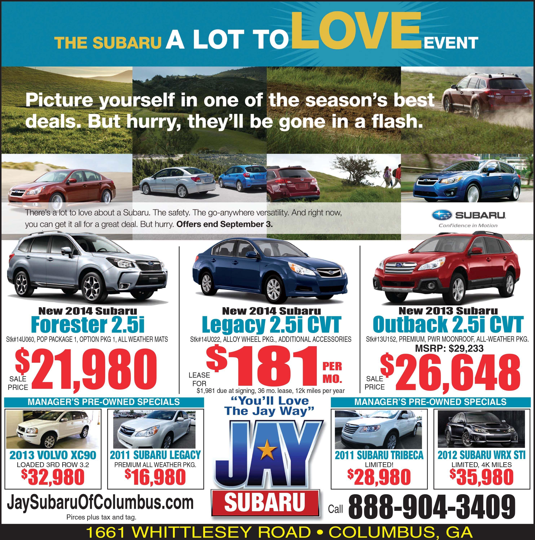 Subaru 1 2 Page Newspaper Ad Subaru Newspaper Layout Event Pictures