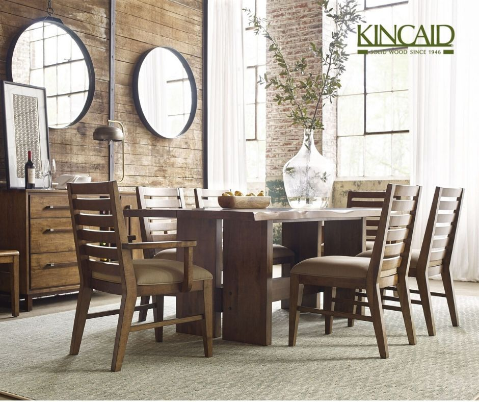 About Kincaid Furniture Live Edge Dining Table Live Edge Dining Room Kincaid Furniture