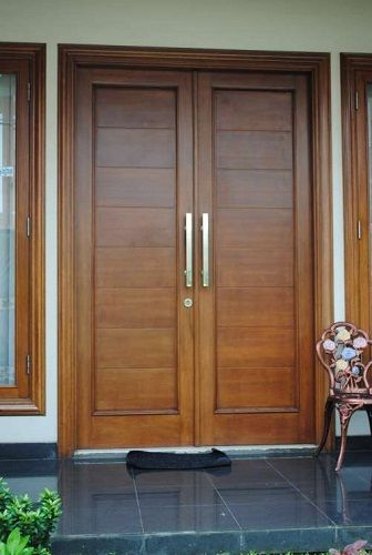 Entryway Red Door Woods Google Search Rumah Minimalis Pintu Rumah
