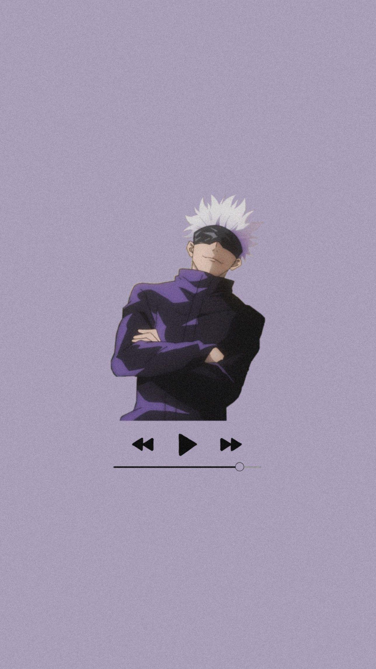 Music Satoru Gojo Wallpaper In 2021 Jujutsu Anime Wallpaper Anime Boyfriend
