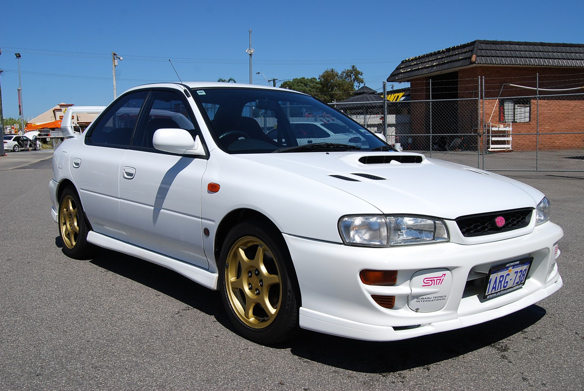 1999 SUBARU IMPREZA MY00 WRX STi Version 6 Wrx, Subaru