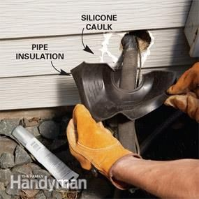 Energy Savings: Seal Plumbing and Wiring Holes | Tools and