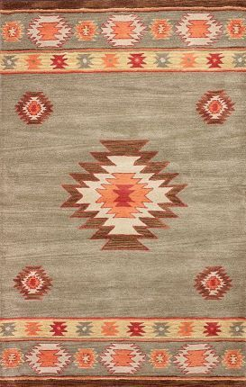 Rugs USA Savanna Southwestern VE04 Beige Rug South West Aztec Style Pattern