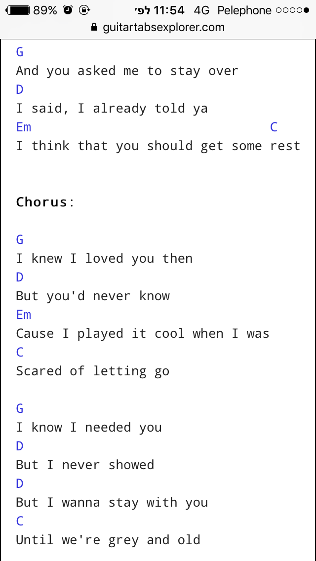 Say You Wont Let Go Piano Chords Numbers Idea Gallery