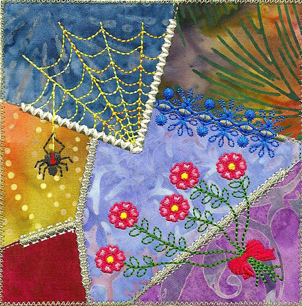 Crazy Quilt Series 1 Pt 3, Molly Mine Embroidery Machine Designs ... : crazy quilt pictures - Adamdwight.com