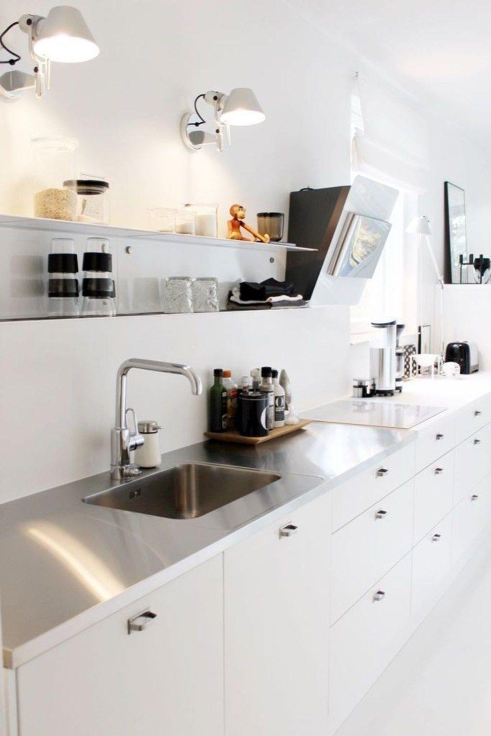 Simple Modern Scandinavian Kitchen Inspirations04 ...