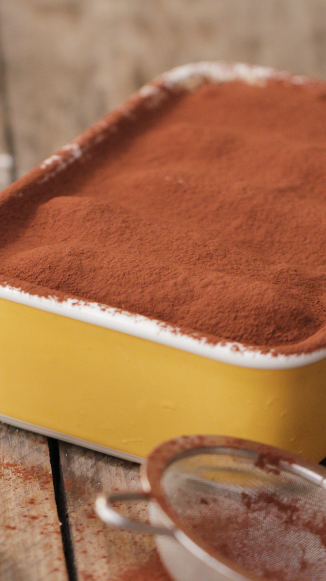 Traditional Tiramisu #food
