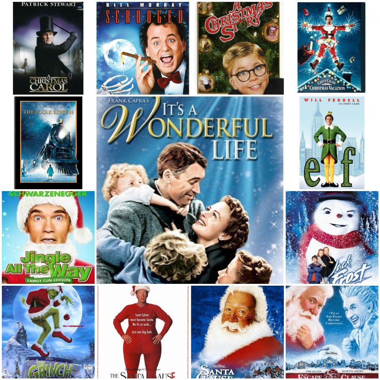 Here are the answers to the Christmas Movie Quiz