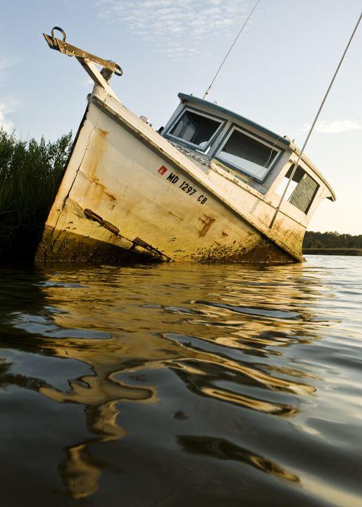 Derelict Workboat  — Jay Fleming