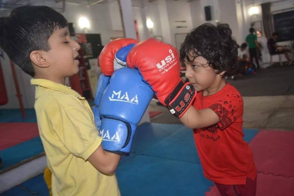 Kickboxing training classes in delhi muay thai training